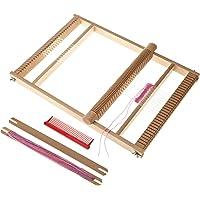 10 Stücke Holz Webschiffchen Basteln für Webrahmen Handarbeit Schulwebrahmen