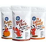Captain Zack Goumet Real Chicken Jerky Human Grade Treats for Dogs, 70g Each - Pack of 3 | Perfect Balance Taste & Nutrition,