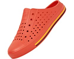 SAGUARO Summer Garden Clogs Lightweight Quick-Dry Mesh Slipper Walking Sandals Beach Pool Non-Slip Shoes Women Men for Indoor