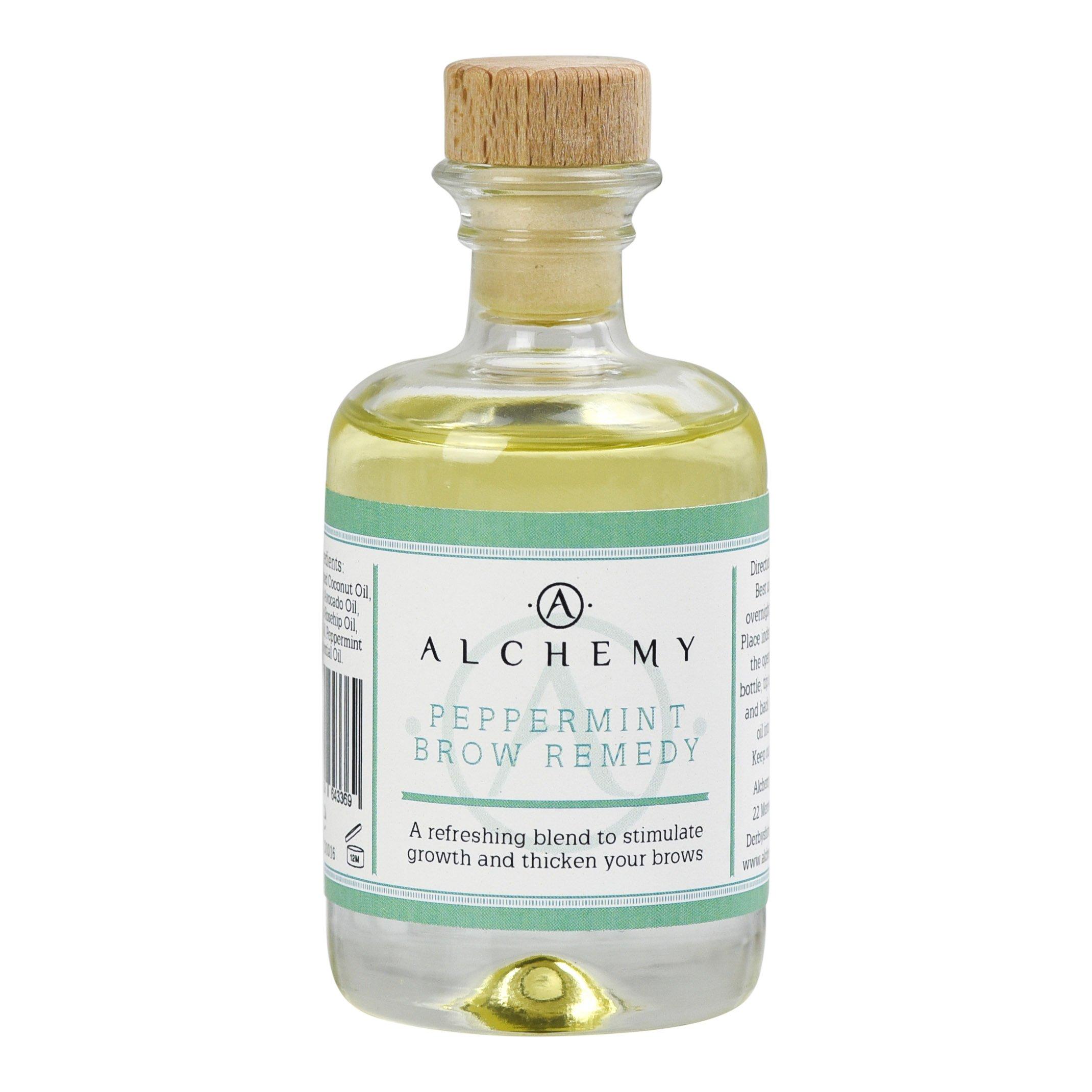 Alchemy aceites menta el Remedio de cejas