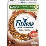 FITNESS CIOCCOLATO Cereali con Frumento e Avena Integrali e Fiocchi Ricoperti al Cioccolato 8 Confezioni da 375 g