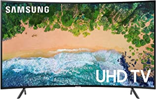 Samsung 65 Inch UHD Curved Smart TV - UA65NU7300KXZN - Series 7 - Black