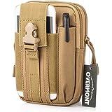 Overmont Marsupio Sportivo Borselli Tattico Outdoor borsello Cintura alla Vita Pouch tattico Waist Bag Tessuto Oxford per Uom