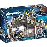 Playmobil 70222 Fortaleza Novelmore con Lanzapiedras y Cañón de Agua, para niños mayores de 5 años