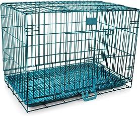 "Hmsteels Iron Dog Cage - Blue (12""*18""*15)"