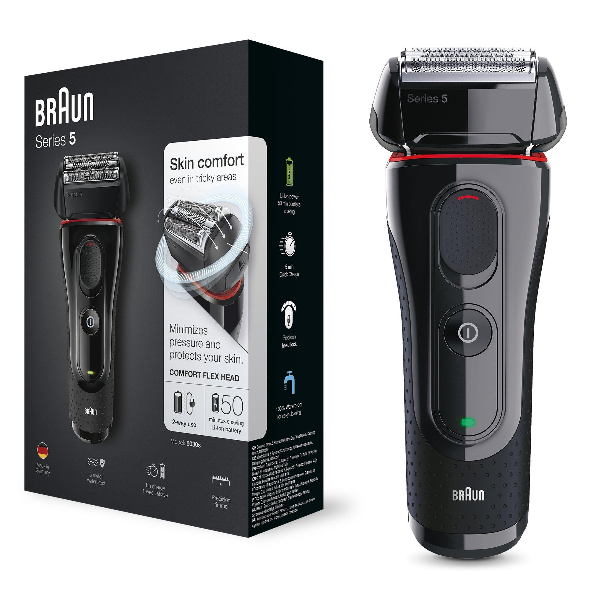 Braun Series 5 5030 – Afeitadora eléctrica