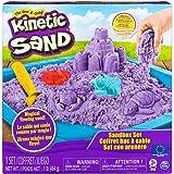 Kinetic Sand, Playset Castelli di Sabbia, 454 Grammi di Sabbia con Vaschetta, Colori a Sorpresa, dai 3 Anni