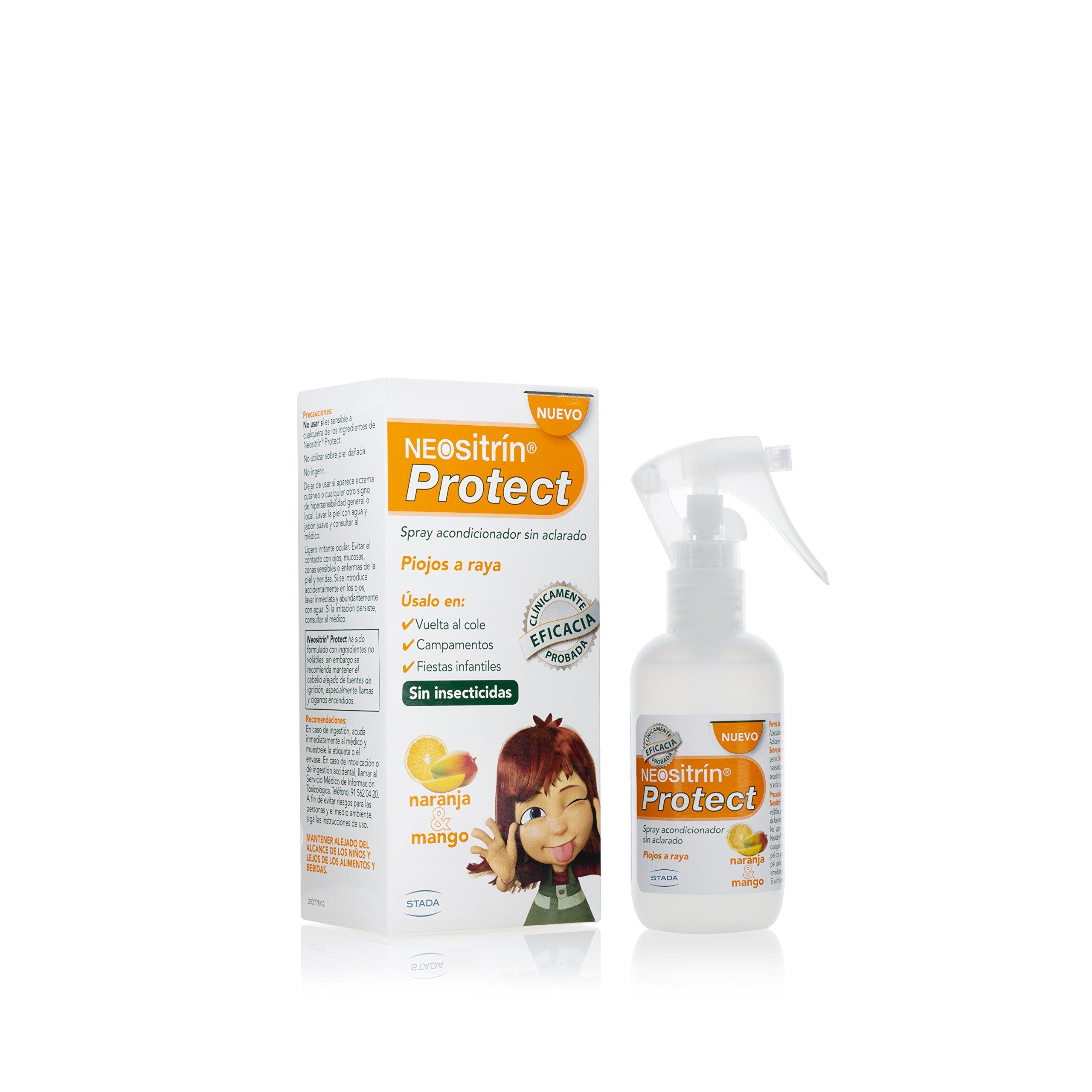 Neositrín, Cuidado del pelo y del cuero cabelludo (Protect spray)