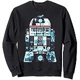 Star Wars R2-D2 Geometric Simplified Story Sweatshirt