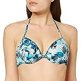 Marchio Amazon - Iris & Lilly Reggiseno Bikini con Laccetti Donna