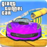 Giant Tunnel Tube GT Car Ramp Stunts Driver 2018