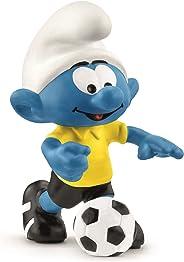 لعبة كرة القدم السنافر مع كرة من شلايش