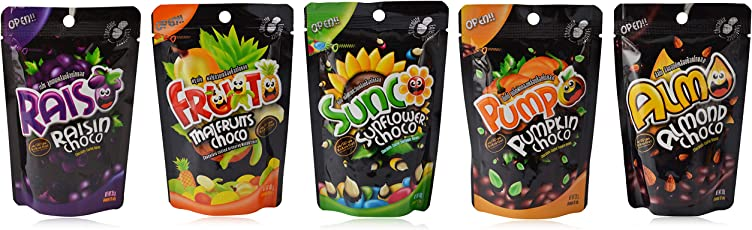 Kenny Delights Exclusive Chocolate Coated Assortment (Combo of 5)