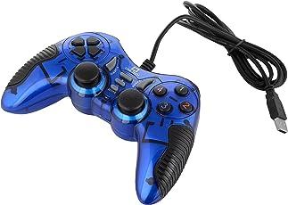 Live Tech Turbo Double Vibration Game Pad GP 01 (Blue)