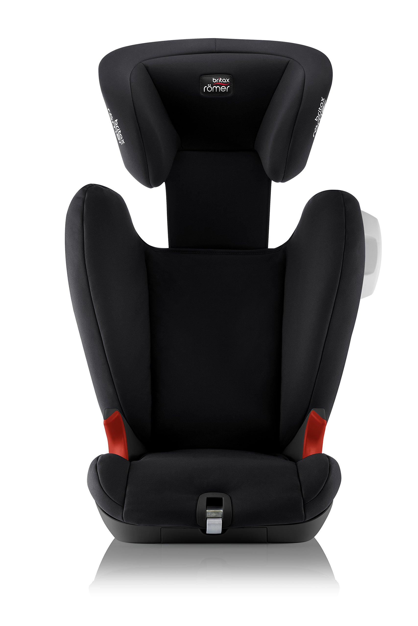 Britax Römer KIDFIX SL SICT BLACK SERIES Group 2-3 (15-36kg) Car Seat - Cosmos Black  Side impact protection - deep, softly padded side wings and sict technology, removable to use only on the side closest to the door Simple installation - soft-latch isofit system Misuse limiting design - intuitively positioned seat belt guides 6