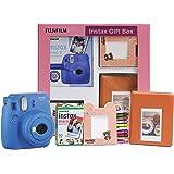 Fujifilm Instax Mini 9 Instant Camera (Cobalt Blue) Gift Box
