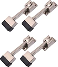 Klaxon KBM3 Brass Door Stopper (Matte)(pack of 4)