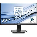 Philips 271S7QJMB/00 68 cm (27 Zoll) Monitor (VGA, HDMI, Displayport, 5ms Reaktionszeit, 1920 x 1080, 60 Hz, Pivot) schwarz
