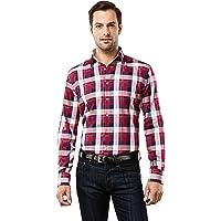 Vincenzo Boretti Chemise Homme, Coupe cintrée Slim-fit, Tissu Infroissable et agréable, 100% Coton, Manches-Longues, col…
