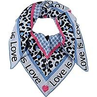 Zwillingsherz Dreieckstuch Love is Love Stola Schal aus Wolle für Damen Mädchen Jungen Kinder - Hochwertiges Baumwoll…