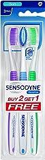 Sensodyne Sensitive Toothbrush (2+1 Pack)