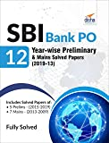 SBI Bank PO 12 Year-wise Preliminary & Mains Solved Papers (2019-13)