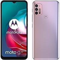 "moto g30 Dual-SIM Smartphone (6,5""-Max Vision-HD+-Display, 64-MP-Vierfach-Kamerasystem, 128 GB/4 GB, 5000 mAh-Akku…"