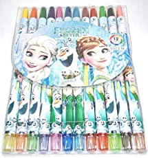 8TEEN World Rolling Crayons 12 Colours