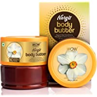 WOW Skin Science Nargis Body Butter for Hydrating & Softening Rough Skin - For All Skin Types - No Parabens, Silicones…