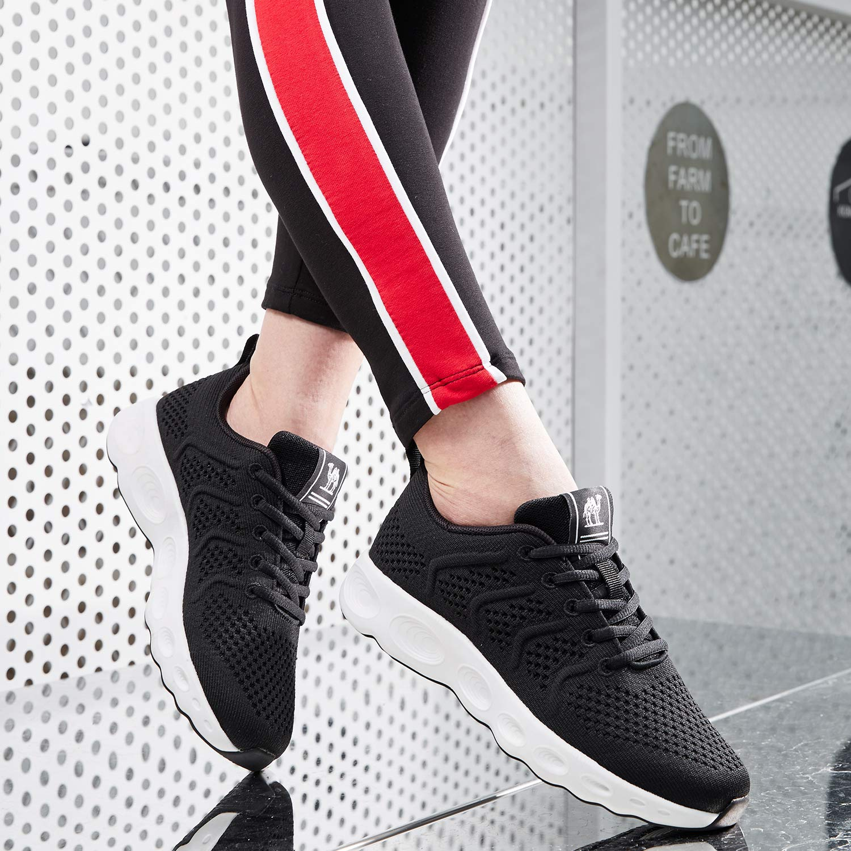9af18664e2ce3 CAMEL CROWN Scarpe da Corsa da Donna Uomo Moda Sneakers Traspiranti ...