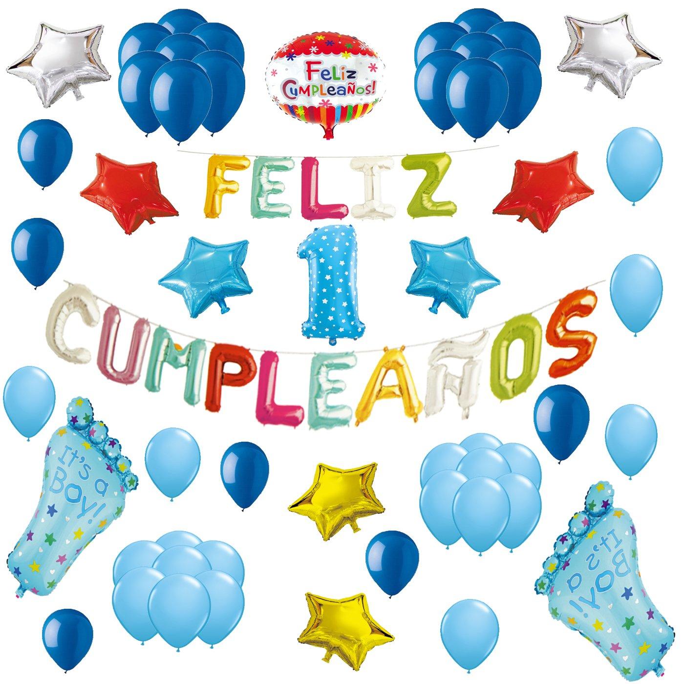Cotigo Globos Feliz Cumpleanos Happy Birthday Fiesta Party - Fiestas-cumpleaos-nios