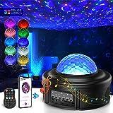 Projecteur ciel etoile Rotatif,Planetarium Projecteur Tesoky LED Lampe veilleuse enfant Led,33 Modes,Chambre,Océan Starry Eto
