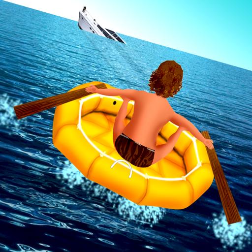 verloren auf See: die werfen Rettungsinsel kämpfen ums Überleben - Gratis-Edition