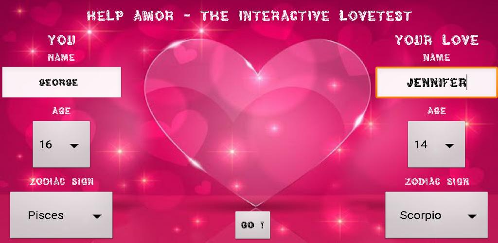 Zoom IMG-1 help amor the love test