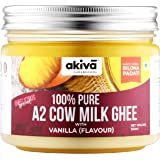 A2 Cow Ghee from Grass-Fed Desi Sahiwal Cow's Milk, 350ml - Vanilla Flavour - Made from Curd by Traditional Vedic Bilona…