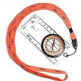 RICTHO-PULSE Kompas wandelen, militaire uitrusting materiaal survival kit, ideaal voor race-oriëntatiekaart, wandelen, kamper