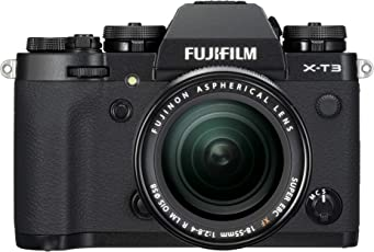 Lifestyles Fujifilm X-T3 Mirrorless Digital Camera Black with 18-55mm Lens kit with Memory Card and Bag