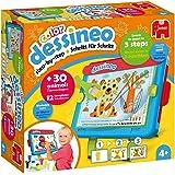 Jumbo 18630 Dessineo - Learn to Paint Easel, Multi