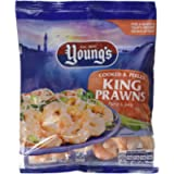 Young's Cooked and Peeled King Prawns, 170g (Frozen)