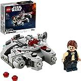 LEGO Star Wars Microfighter Millennium Falcon, Giocattolo con Minifigure di Han Solo per Bambini di 6 Anni, 75295