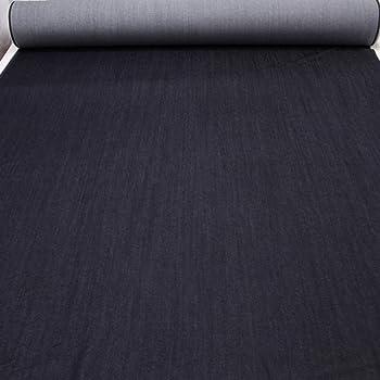 kawenSTOFFE Schwarzblau dunkelblau Jeansstoff elastisch Stretch Raw Denim  Meterware 8d8fb77de1