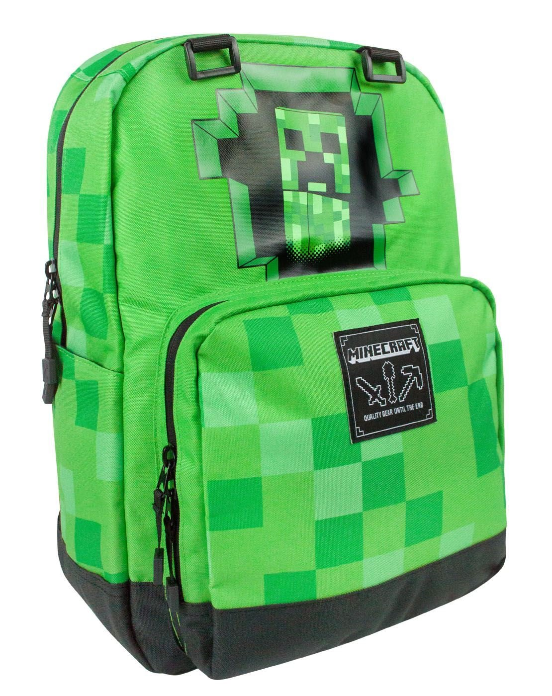 salvare d35be 3a3da Minecraft - Zaino per Bambini - Creeper - FACESHOPPING