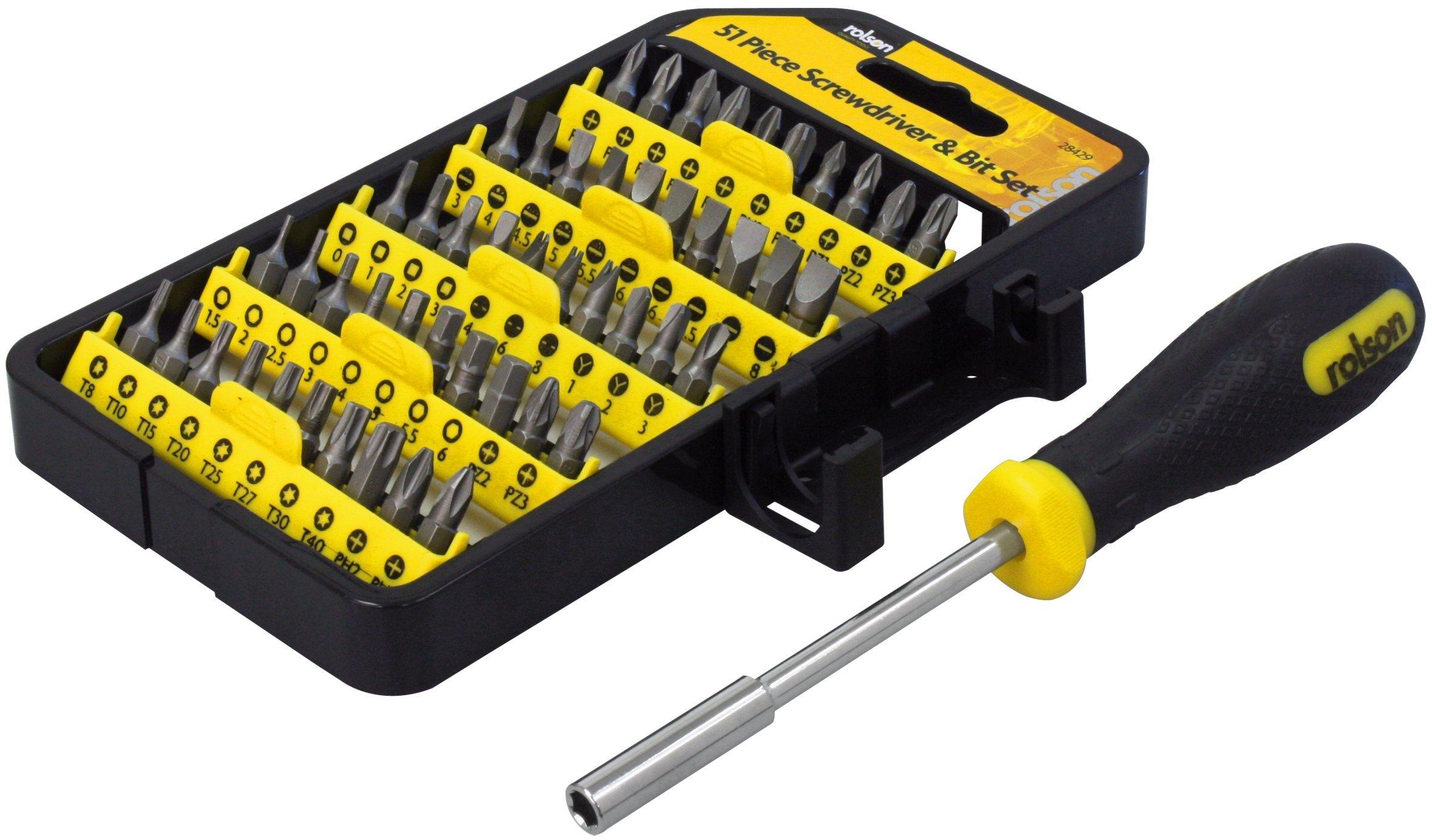 81aI2XHDdJL - Dicoal - Maletín atornillador 51 piezas