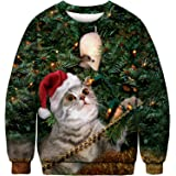 Camisa Unisex De Navidad FEA, Sudadera De Santa Claus Suelta ...