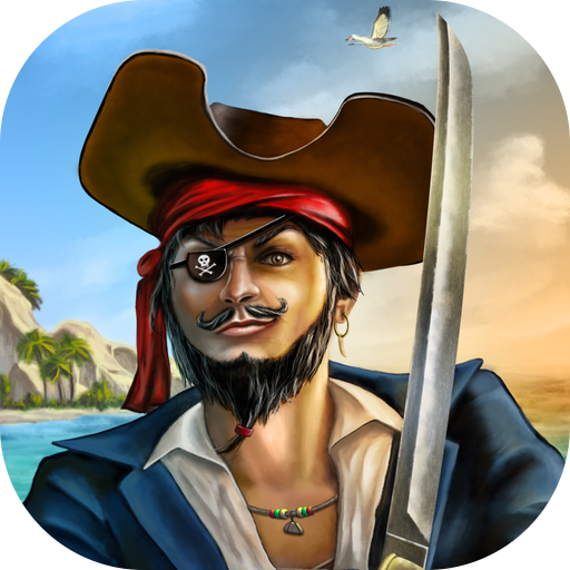 Caribbean Pirates Pogo Jump (Plündern Piraten)