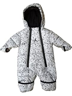 Jordan Baby Boys Sherpa Hooded Coverall