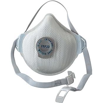 Moldex 3405BP Series 3000 Masque de protection FFP3-D réutilisable avec  valve Ventex (Import e7217aa1b013