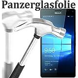 tomaxx Glas für Microsoft Lumia 950 XL Glas Glasfolie 9H Panzerglas Panzerglasfolie Schutzfolie