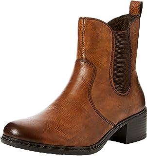 Details zu rieker Damen Stiefelette Braun Schuhe