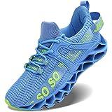 Scarpe da ginnastica da donna alla moda casual monocromatica corsa sport slip assorbimento degli urti traspirante scarpe da p